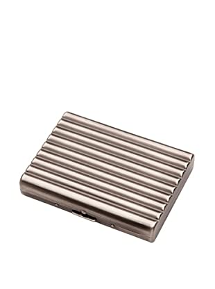 Wilouby Double-Sided Cigarette Case, Gunmetal