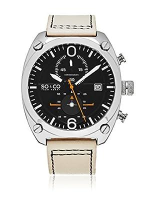 SO & CO New York Uhr mit japanischem Quarzuhrwerk Man GP16114 44 mm