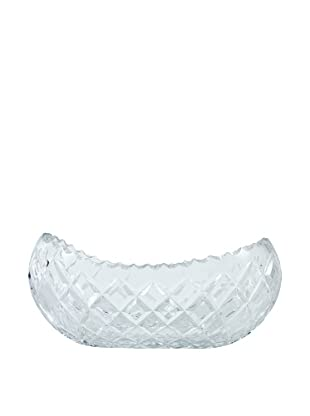 Cut Glass Serving Bowl, Clear