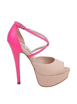 Steve Madden Zapatos Peep Toe Aria (Rosa / Fucsia)