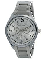 Giordano Analog Silver Dial Men's Watch - DTLMM 60064-22
