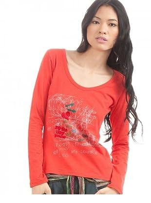 Desigual Camiseta Redr (rot)