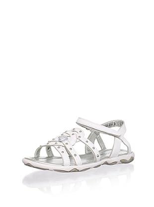 Venettini Kid's Lasso Sandal (Toddler/Little Kid) (White)