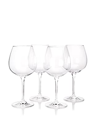 Artland Set of 4 Veritas Burgundy Glasses