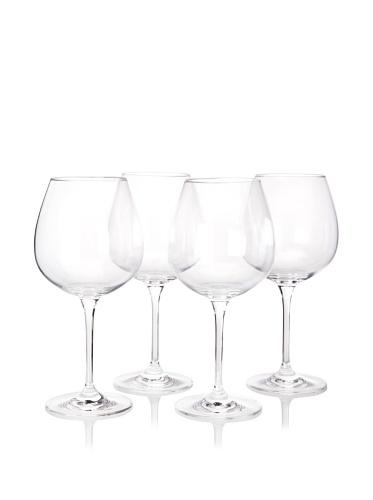 Artland Set of 4 Veritas Burgundy Glasses