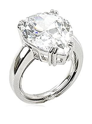 CZ by Kenneth Jay Lane Pear CZ Prong Ring