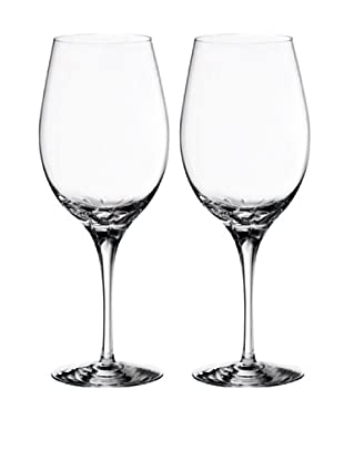 Orrefors Pair of Astra Goblets