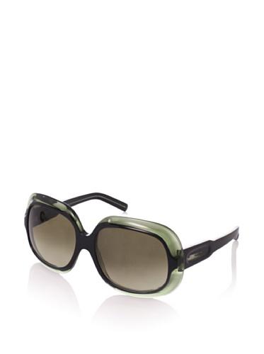 MARNI Women's MA122S Sunglasses, Black/Transparent