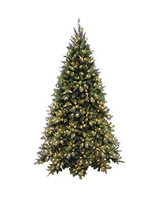 National Tree Company 7.5' Tiffany Fir Medium Hinged Tree