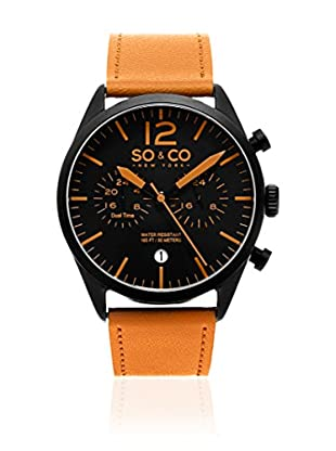 SO & CO New York Reloj de cuarzo Gp15452 Tabaco 42 mm