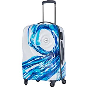 Skybags Riviera 360 Polycarbonate 75 cms White Hardsided Suitcase (RIVIER75WSP) Large Luggage