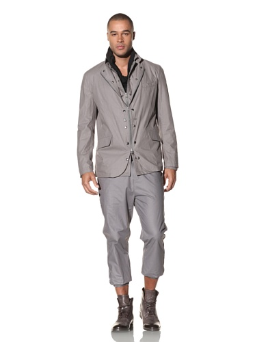 Nicholas K Men's Kelvin Two-in-One Blazer (Shark)