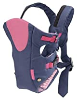 Infantino All Season Vented Carrier - Navy/Pink