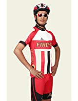 Triumph Firefox Winter bicycle wear Jersey, Red, SzieS