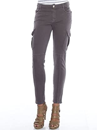 PEDRO DEL HIERRO Pantalón Bolsillos (gris)