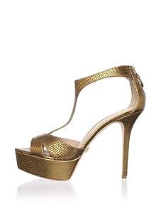 Pour La Victoire Women's Ilena Platform Sandal (Bronze)