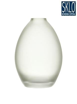 Cristal de Bohemia Florero Tao H 20.5 Cm Azul
