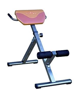 High Muster Fitness Bank HPHMPANCAROMANA stahl/braun