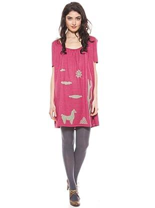 La Casita de Wendy Vestido Cactus Knit (Rosa)