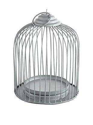Napa Home and Garden Garden District Orleans Bird Cage, Silver Gray