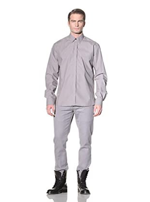 Ann Demeulemeester Men's Woven Button Front Shirt