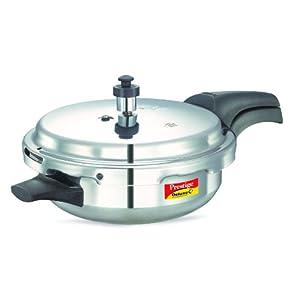 Prestige Deluxe Plus Induction Base Junior Pan Aluminium Pressure Cooker