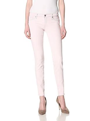 Driftwood Women's Skinny Jean (Pink Overdye)