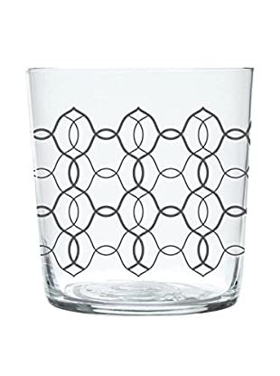 Molecuisine Glas 4er Set Magatama 37 cl grau
