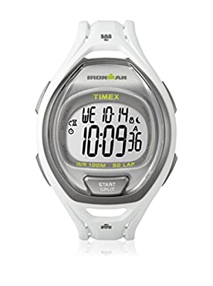 TIMEX Reloj de cuarzo Unisex Unisex Ironman Sleek 50-Lap Blanco 42 mm