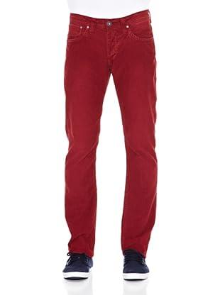 Pepe Jeans London Pantalón Cash (Rojo)