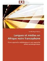 Langues Et Medias En Afrique Noire Francophone (Omn.Univ.Europ.)