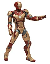 Classic Marvels Superhero Iron Man Multi Colored Action Figure for Kids - Model Number MK42 by Diamon Select