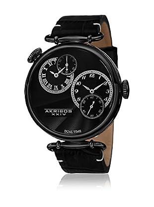 Akribos XXIV Reloj de cuarzo Man AK796BK 46 mm