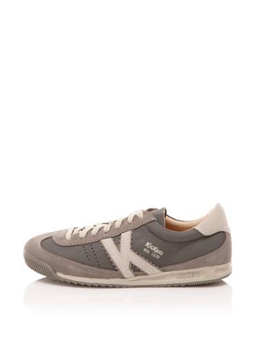 Kickers Kid's Kickretro Shoe (Grey)