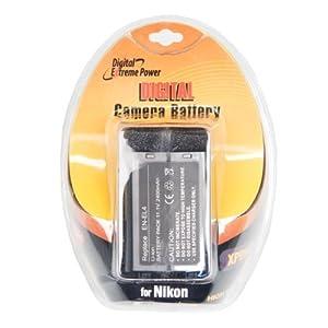 Bower XPDNEL4 Digital Camera Battery for Nikon EN-EL4 D2H, D2X, D2Hs, D3, D3S, D3X (Gray)