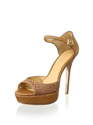 Badgley Mischka Women's Colby Platform Sandal (Caramel)