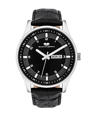 Rhodenwald & Söhne Uhr mit Japanischem Quarzuhrwerk 10010109 schwarz 43  mm