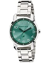 Fastrack Analog Green Dial Women's Watch - 6111SM02