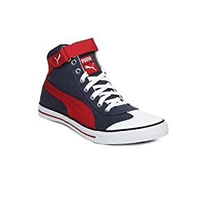 Puma Unisex Blue & Red 917 Mid 2.0 Ind. Casual Shoes