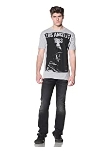 MG Black Label Men's Los Angeles T-Shirt (Grey)