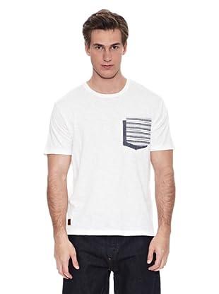Springfield Camiseta B2 Doble Pkt Ehtnic (Blanco)