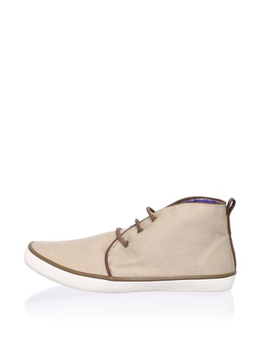 Kenneth Cole REACTION Men's All G-Row-N Up Mid-Top (Beige)