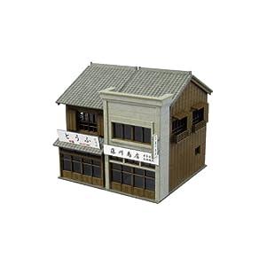 【クリックで詳細表示】Amazon.co.jp | 1/150 なつかしのジオラマシリーズ 商店D (ペーパークラフトキット) | ホビー 通販