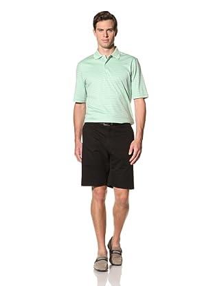 Bobby Jones Men's Flat Front Basic Short (Black)