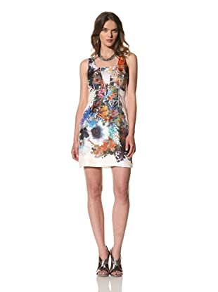 Cynthia Rowley Women's Forced Perspective Floral Tank Dress