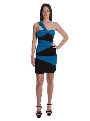 Rare Vestido St. Louis (Negro / Azul)