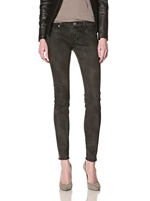 Driftwood Women's Skinny Jean (Black Leather)
