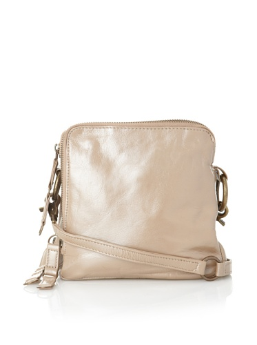 Latico Women's Beulah Triple-Compartment Convertible Shoulder Bag (Metallic Taupe)