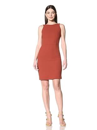 Derek Lam Women's V-Back Dress (Red Ochre)