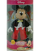 Disney Mickey Mouse Hand Painted Porcelain Doll Classic Mickey